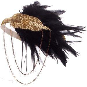 Vintage Gatsby Gold Headpiece
